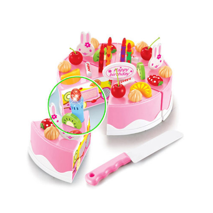 Fruit birthday cake parent-child toy